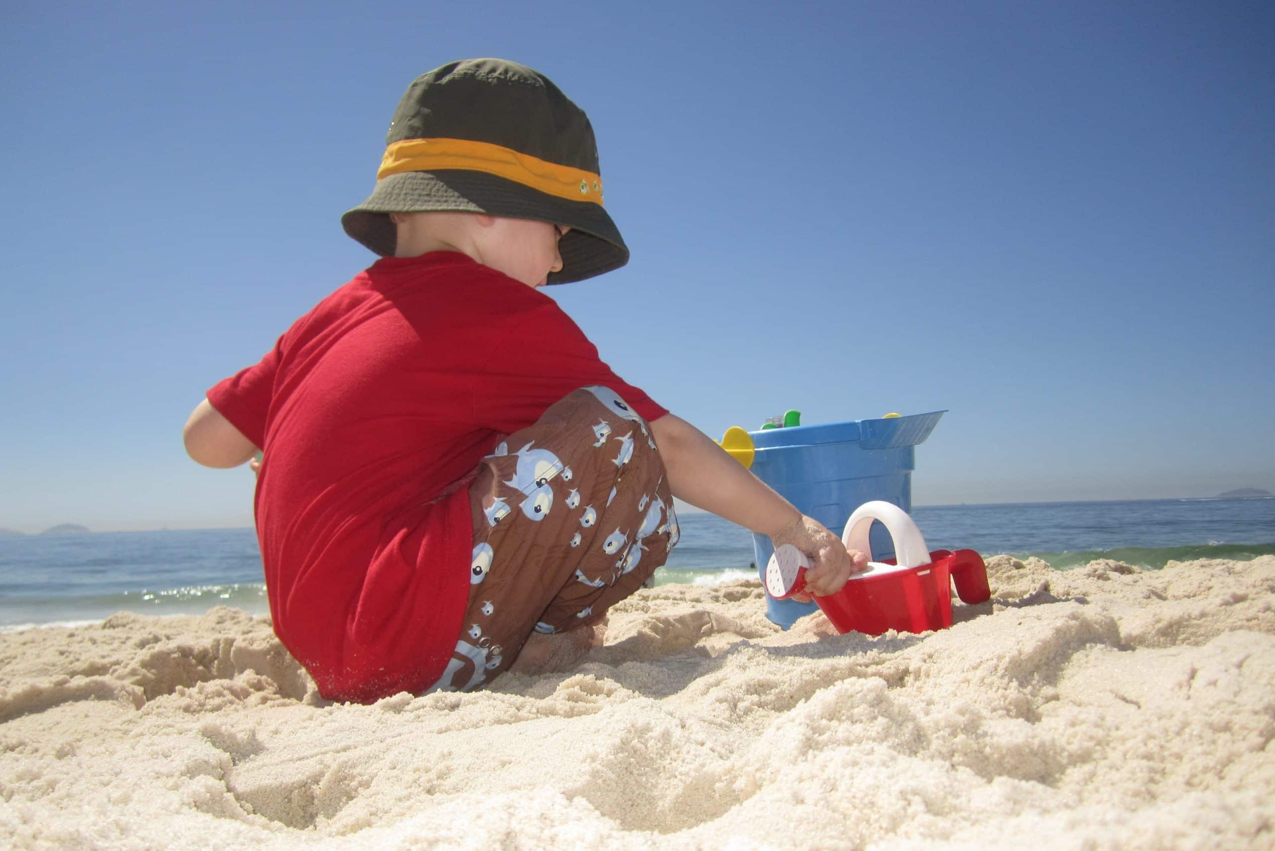 Quelle température devrait aller à la plage?
